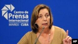Josefina Vidal, diplomática cubana que ayudó a negociar el deshielo entre la isla y EE.UU., sería acogida por el país norteamericano.