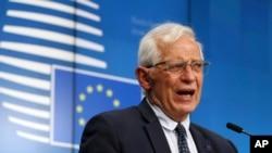 Người đứng đầu chính sách ngoại giao của Liên hiệp châu Âu, Josep Borrell.