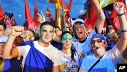 Протестен митинг на СДСМ пред Владата