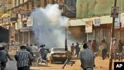 Manifestação, Uganda (foto de arquivo)