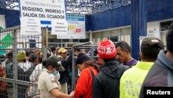 En Ecuador la colonia de migrantes más grande es la venezolana, con unas 300.000 personas de las cuales casi 40.000 ingresaron entre enero mayo de este año.