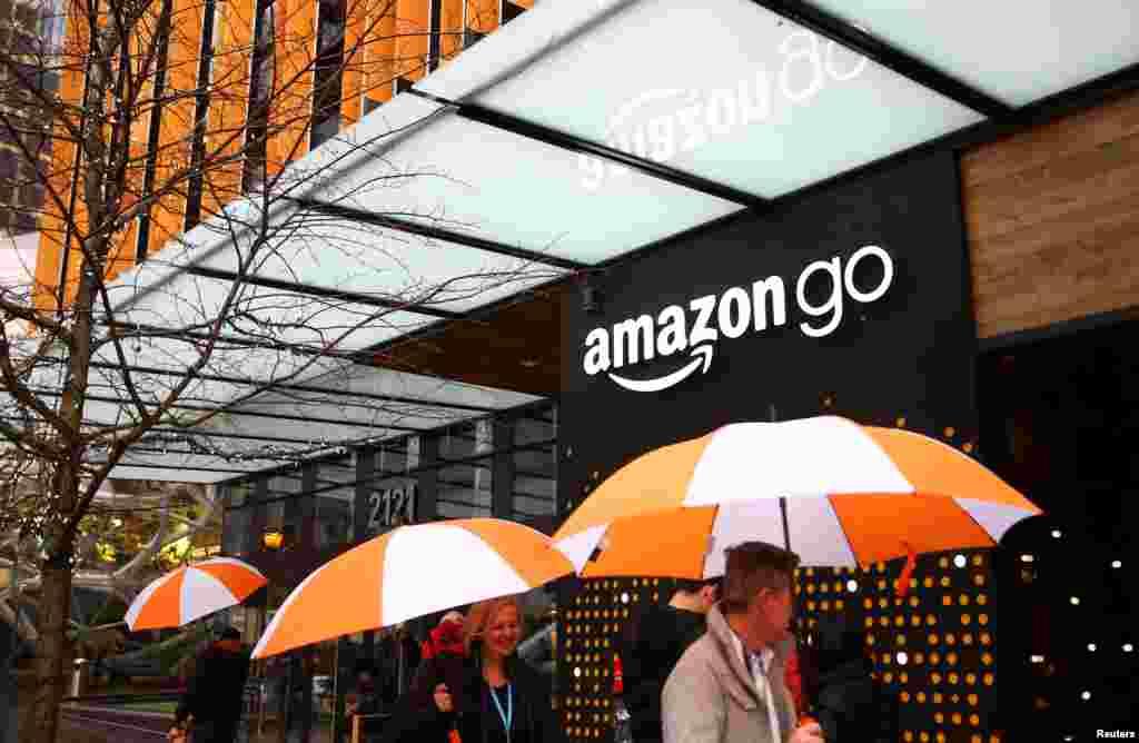 نوآوری شرکت آمازون؛ سوپرمارکت بدون فروشنده و هوشمند