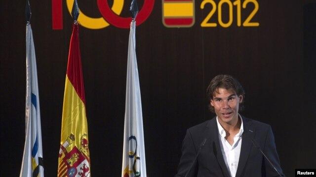 Koleno i dalje problem: Rafael Nadal