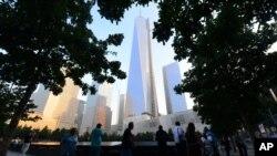 Commémoration du 12e anniversaire du 11 septembre à NY