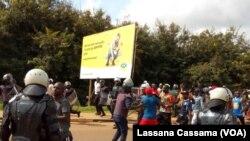 Manifestação em Bissau