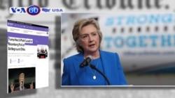 Bà Hillary Clinton trở lại (VOA 60)