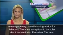 Phone App Helps Diabetics During Ramadan