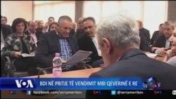Maqedoni: Drejtuesit e BDI-së diskutojnë rreth vendimit për të hyrë në koalicion qeveritar