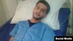 """افشین سهراب زاده به اتهام """"محاربه"""" و """"افساد فی الارض"""" به ۲۵ سال حبس و تبعید به میناب محکوم شده است."""