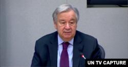 Katibu Mkuu wa UN Antonio Guterres