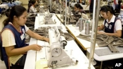 An estimated 500,000 Cambodians are employed in the garment and textiles industry, throughout some 600 factories, up from 300,000 in 2009.