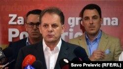 ARHIVA - Bivši gradonačelnik Podgorice Slavoljub Stijepović, 28. maja 2018. godine (Foto: RFE/RL/Savo Prelević)