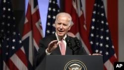 Phó Tổng thống Joe Biden phát biểu tại Tòa thị chính Paddington ở Sydney, ngày 20/7/2016.