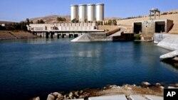 이라크 최대 수력박전소인 모술 댐. (자료사진)