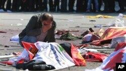 AP Turkey Blast Ankara, Turkey Oct 10, 2015