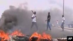 Escalade de la violence en Côte d'Ivoire.