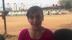 Hanan Daqqah, a refugiada síria que leva a tocha olímpica no Brasil