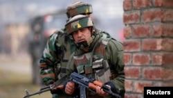 印中邊界對峙結束 圖為印軍在洞朗地區資料照。