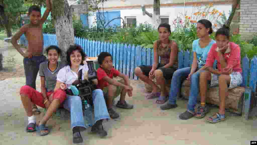 Юлия и дети