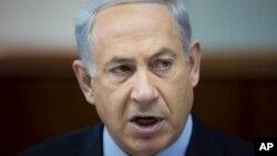 以色列总理内塔尼亚胡11月24日在耶路撒冷