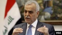 Wakil Presiden Irak, Tariq al Hashemi melarikan diri ke Turki untuk menghindari tuduhan pengadilan Irak (foto: dok).