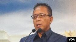 Menko Polhukam Djoko Suyanto (foto: dok).