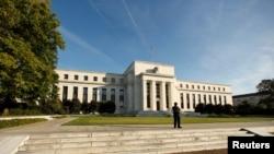 美國聯邦儲備局總部 (資料圖片)