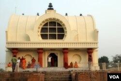 Chùa Niết Bàn (Mahaparinirvana Temple). (Hình: Tước Nguyễn)