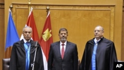 Mohamed Morsi's Inauguration in Egypt