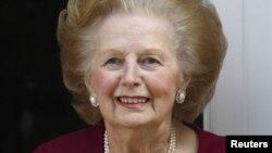 Mantan PM Inggris, Margaret Thatcher (Foto: dok).