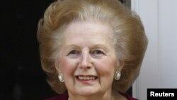 Cựu Thủ tướng Anh Margaret Thatcher (hình năm 2010)