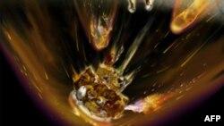 """Rusiyanın """"Fobos-Qrunt"""" kosmik stansiyasının qalıqları Sakit okeanına düşüb"""
