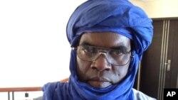 Al Kahedi Cissé, wani babban jami'in 'yan gwagwarmaya a arewacin Mali.