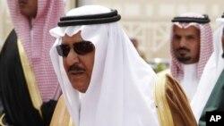 Ðông cung Thái tử Nayef bin Abdel-Aziz (ảnh tư liệu ngày 5/5/2009)