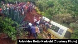 Ajali iliosababisha vifo vya wanafunzi na wafanyakazi wa shule ya Lucky Vincent wilayani Karatu, Arusha