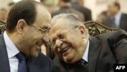 Nuri al-Malkiy bosh vazir, Jalol Talaboniy prezident lavozimida qoldi