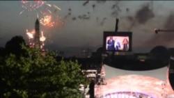 美国首都人民庆祝独立日