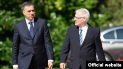 Predsednici Crne Gore i Hrvatske, Filip Vujanović i Ivo Josipović