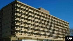 L'hôpital de Katutura à Windhoek, Namibie, 10 juin 2006.