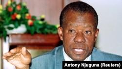 Ketumile Masire, antigo Presidente do Botsuana