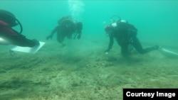 Podvodna arheologija, FOTO: Ronilački klub BUK
