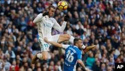 Dan wasan Real Madrid Gareth Bale