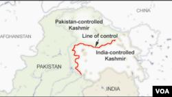 Ikarata y'ahaherereye intara ya Kashmir