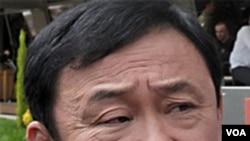 Mantan PM Thailand yang buron, Thaksin Shinawatra.