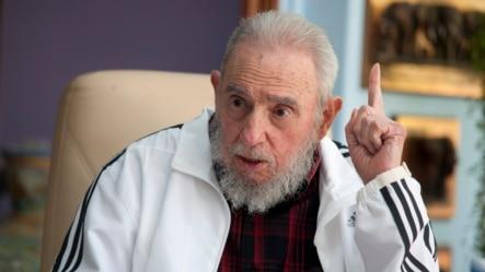 古巴前领导人菲德尔•卡斯特罗(资料照)