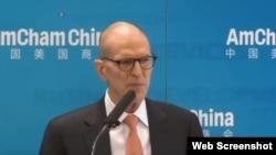 中国美国商会主席威廉·扎里特(William Zarit)(资料照片)