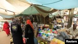 苏丹喀土穆的东方食品市场