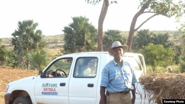 Le chercheur agricole malien Mamadou Dia