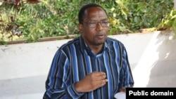 Léonard Nyangoma, président du Cnared, une plateforme d'opposition burundaise en exil.