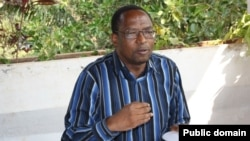 Le chef de la Cnared, coalition d'opposition burundaise, Léonard Nyangoma.